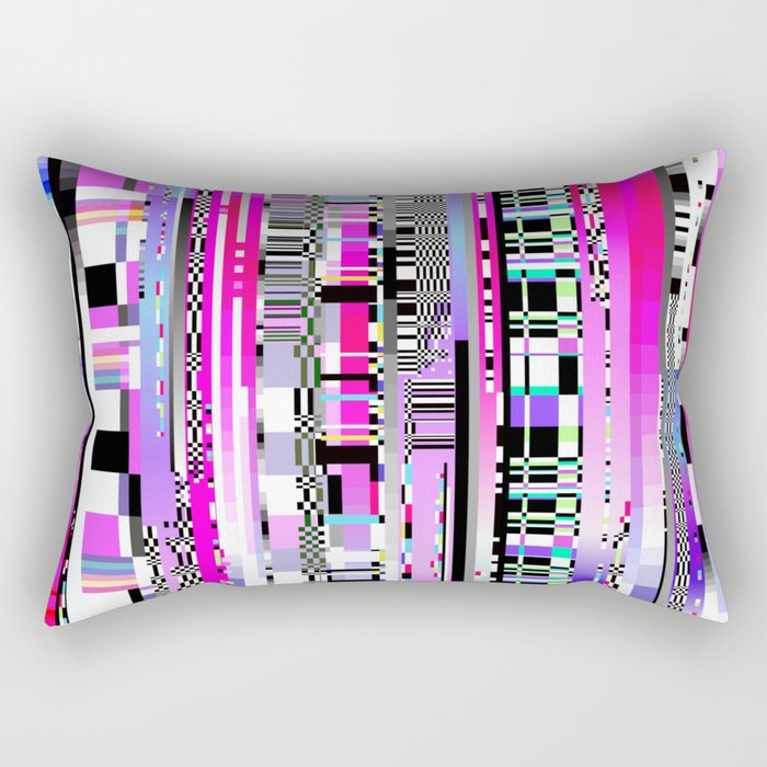 Glitch Ver.3 Rectangular Pillow