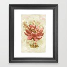 Goblins Drool, Fairies Rule! - Petal Flower Framed Art Print