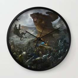 Five Armies Wall Clock