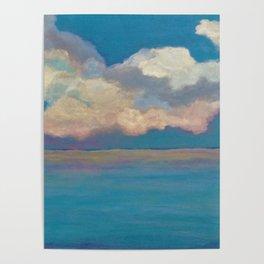 Pink Clouds at Sea Poster
