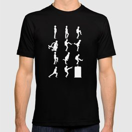The TARDIS of Silly Walks T-shirt