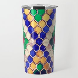 Multicolored honeycomb Travel Mug