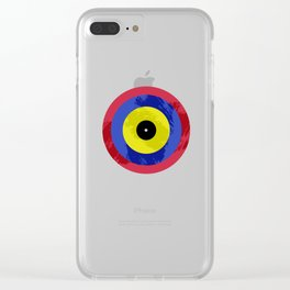 Vinyls Eye I Clear iPhone Case
