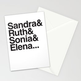 RBG & the Women of SCOTUS Stationery Cards