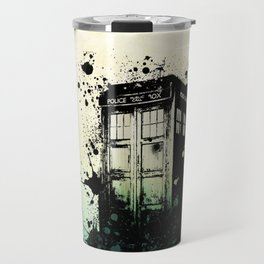 TARDIS Doctor Who Travel Mug