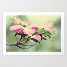 dogwood love ♥ Art Print