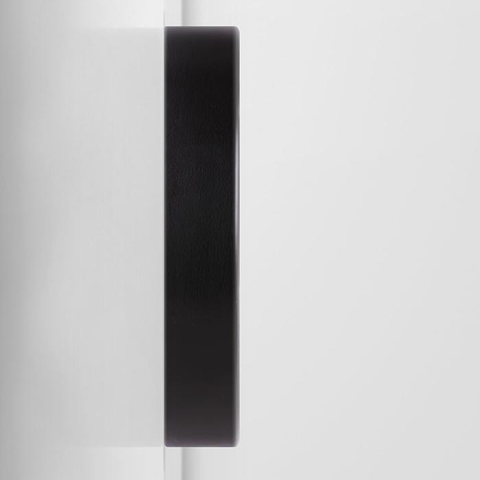 Black Minimalist Wall Clock