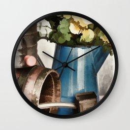 Rustic Kitchen Wall Clock