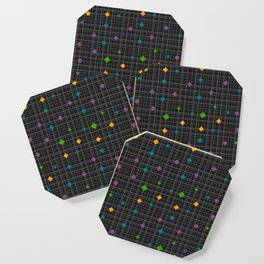 Networks with bright shapes Coaster