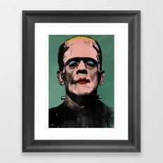 The Fabulous Frankenstein's Monster Framed Art Print