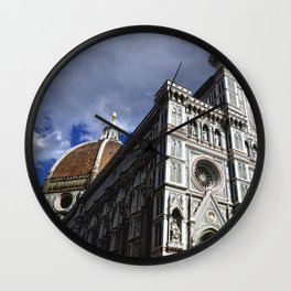 "Sant Maria Del Fiore ""Duomo"" of Florence, Italy Wall Clock"