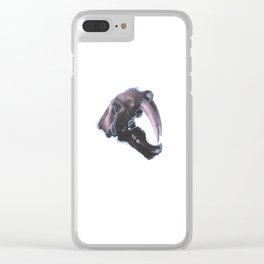 Sabertooth Clear iPhone Case