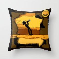 trompet Throw Pillow