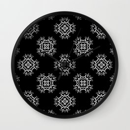 Abstract vintage pattern 2 Wall Clock
