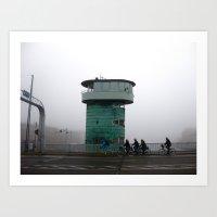 copenhagen Art Prints featuring Copenhagen  by _ _ _ _ _ _ _ P