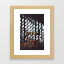 11 AM Framed Art Print