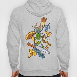 Autumn dreams of mushroom crime Hoody
