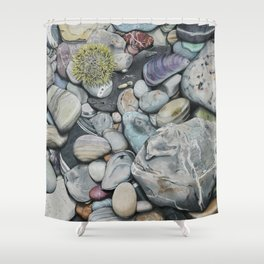 Beach4 Shower Curtain