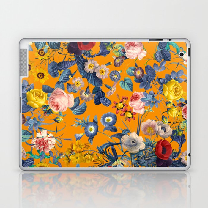 Summer Botanical Garden IX Laptop & iPad Skin