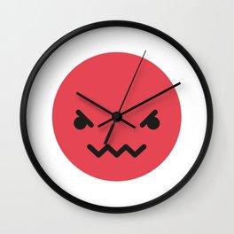 Emojis: Angry Wall Clock
