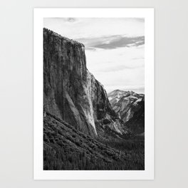 Yosemite El Capitan Art Print