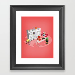 The Nick Yorkers in March Framed Art Print