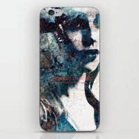 charmaine olivia iPhone & iPod Skins featuring Olivia by  Maʁϟ