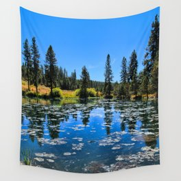 By The Lake Wall Tapestry