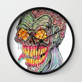 Demon Brain Wall Clock