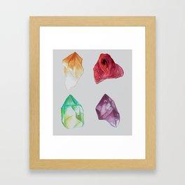 Minerals (2) Framed Art Print