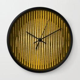 Sprayed circled Lines Wall Clock