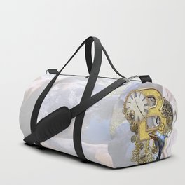 Alphabet-Monogram B Duffle Bag