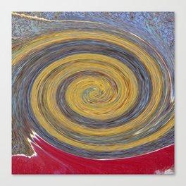 Swirl 02 - Colors of Rust / RostArt Canvas Print