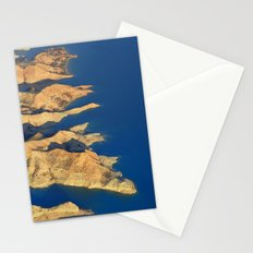 Bad lands at the lake Stationery Cards