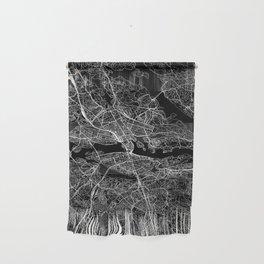 Stockholm Black Map Wall Hanging