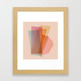 Abstraction_Spectrum Framed Art Print