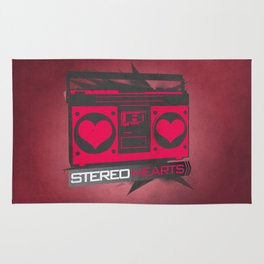 Stereo Hearts Rug