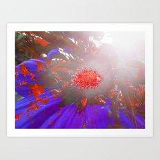 FlowerPower Fantasy 8 Art Print