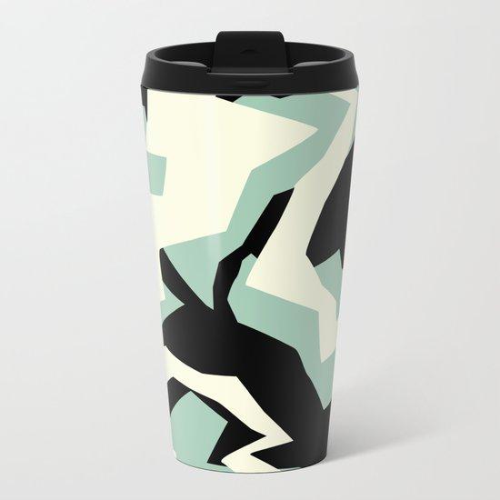 Camouflage:RAW Metal Travel Mug