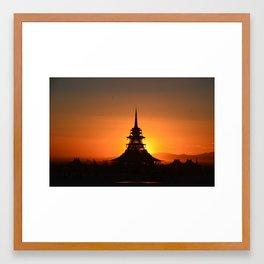 House of the Rising Sun Framed Art Print