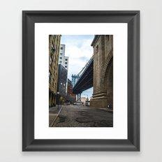 Welcome to DUMBO Framed Art Print