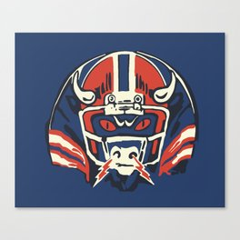 GAME FACE Canvas Print