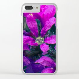 Give Me A Reason To Love You Clear iPhone Case