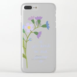 You Won't Be Sad Forever Clear iPhone Case