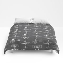 Biplanes // Charcoal Comforters