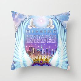 Return to Paradise Mission Throw Pillow