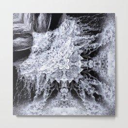 Chilean Waterfall II Metal Print
