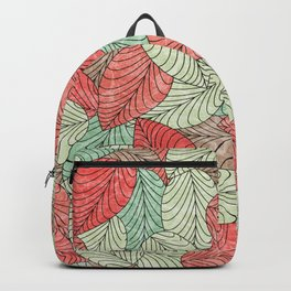 Let the Leaves Fall #12 Backpack