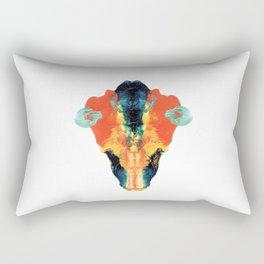 cock shiet the bull Rectangular Pillow