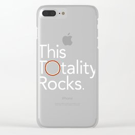 This Totality Rocks Clear iPhone Case